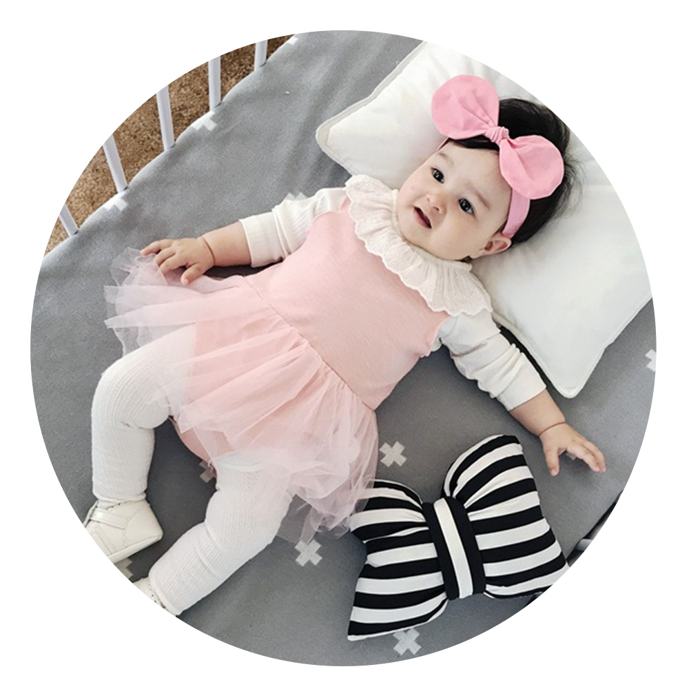 2pcs/set Baby Romper dress + T shirt Princess pink baby girl Clothing Sets Party Birthday dress Infant Kids Outfits Toddler Suit sanqi женский охранительный модный купальник плавки