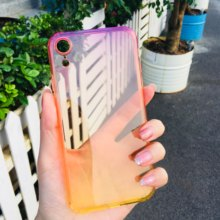 NEW Psychedelic Color Luxury Case For iPhone X XS Max XR 8 7 6 6s Plus Ultra Thin Slim Soft TPU Silicone Cover Cases Fashion(China)