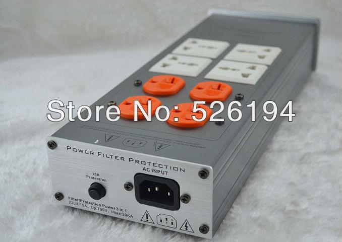 Free shipping Weiduka AC8.2 US version Mains Audio Power Purifier Filter without original box free shipping ac