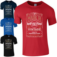 Made in 1983 T-Shirt Born 35th Year Birthday Age Present Vintage Funny Mens Gift Print T Shirt Short free shipng