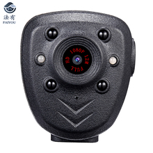HD 1080P Police Body Lapel Worn Video Camera With 32G Memory DVR IR Night Vision LED Light Record Digital Mini DV Recorder