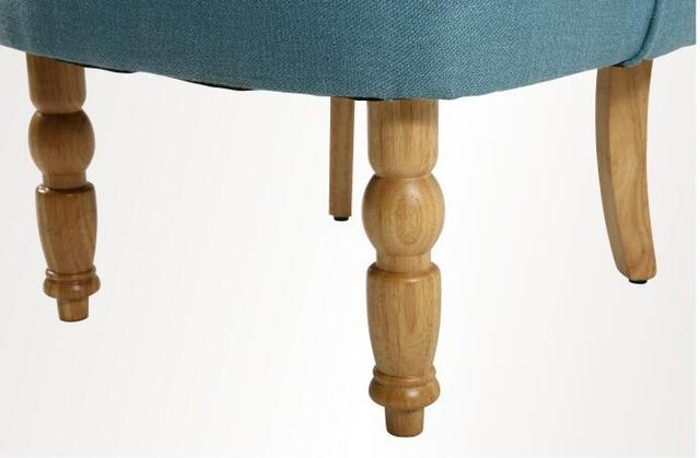 Casual Accent Chair with Button Tufts 5