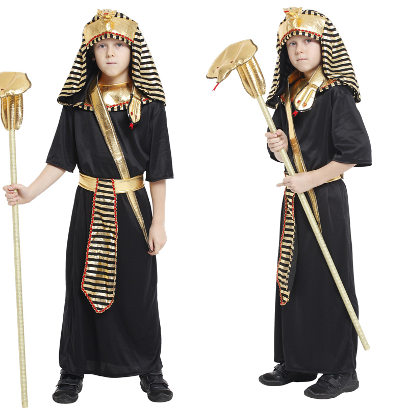Free shipping cleopatra sexy ancient egyptian cosplay costumes pharaoh cosplay costume dresses kids girls children dress up.