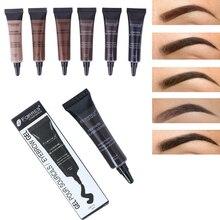 1PC Eyebrow Tattoo Dye Pen Brush Waterproof Sweatproof Gel Paint Makeup Henna Cream Tool