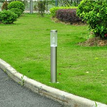 Купить с кэшбэком street lamp grass garden outdoor lawn bollards villa E27 landscape lighting lawn lights road light decorative WCS-OLL0034