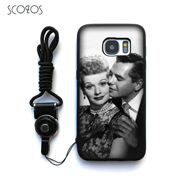 Sensible Scozos I Love Lucy Lucille Ball Silicone Case Cover For Samsung Galaxy S6 S7 S7 Edge S8 S8 Plus J3 J5 J7 A3 A5 A7 2016 Note 8 Fitted Cases