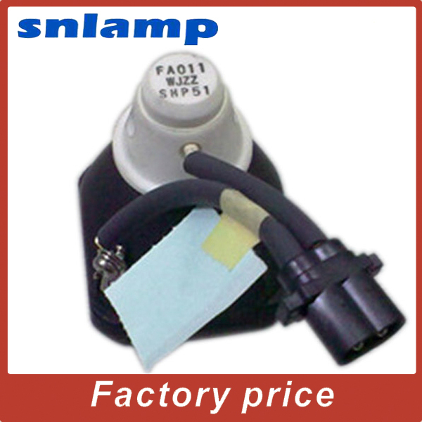 100% original SHP51 Bare Projector lamp  PG-AN120S