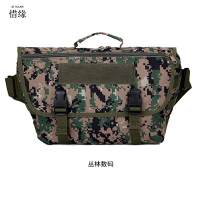 Men's Tactics Bag Waist Pack Men Fanny Pack Molle Bag High Quality Nylon Belt Pocket Military Messenger Bag Hunt Waist Bag universal waist belt bag pouch outdoor tactical holster military molle hip purse phone case