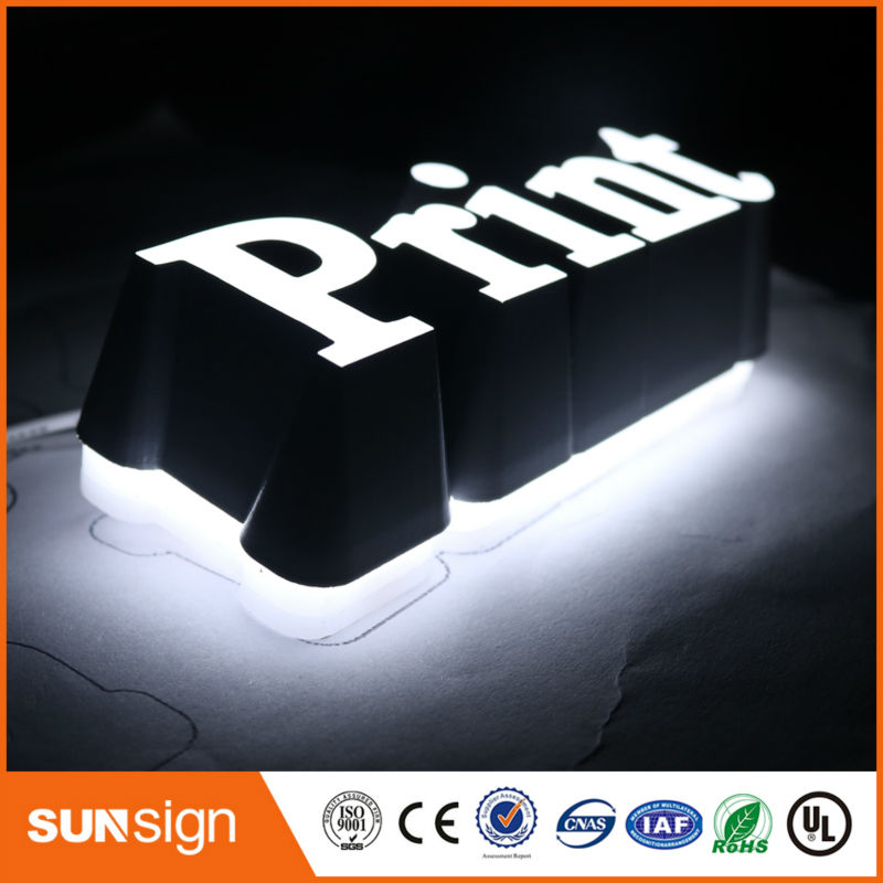 Custom Channel Letter 3d Sign Letters