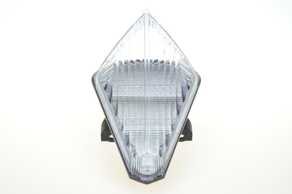 Светодиодный Встроенный задний фонарь сигнала поворота для YAMAHA R1 07-08 - Цвет: Прозрачный