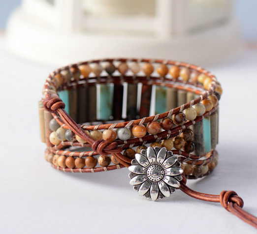 Boho Bracelet Tube Shape...