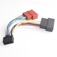16pin car stereo radio harness iso for kenwood radio to iso radio play plug  auto adapter