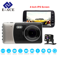 E ACE Original Novatek NTK 96655 Car Dvr 4 0 Inch Screen Dash Cam 170 Degree