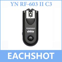 Yongnuo RF-603 II RF603 II Sem Fio Flash Gatilho/Remoto C3