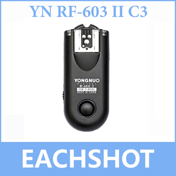 Yongnuo RF-603 II RF603 II Wireless Flash Trigger/Remote C3 EachShot Photo Equipment Co.,Ltd.