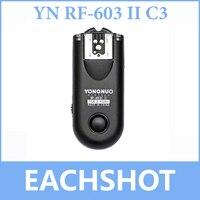 Yongnuo RF-603 ii rf603 ii 무선 플래시 트리거/원격 c3