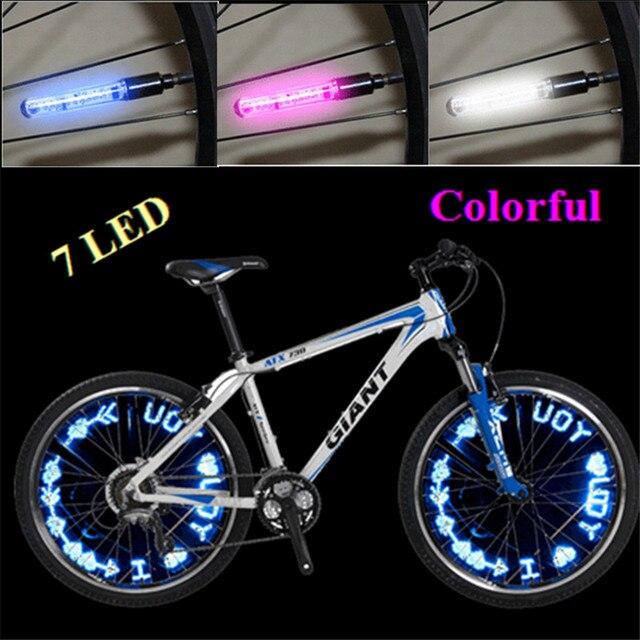 Nieuw 7LED mountainbike fietsverlichting gaspijp lamp led ...