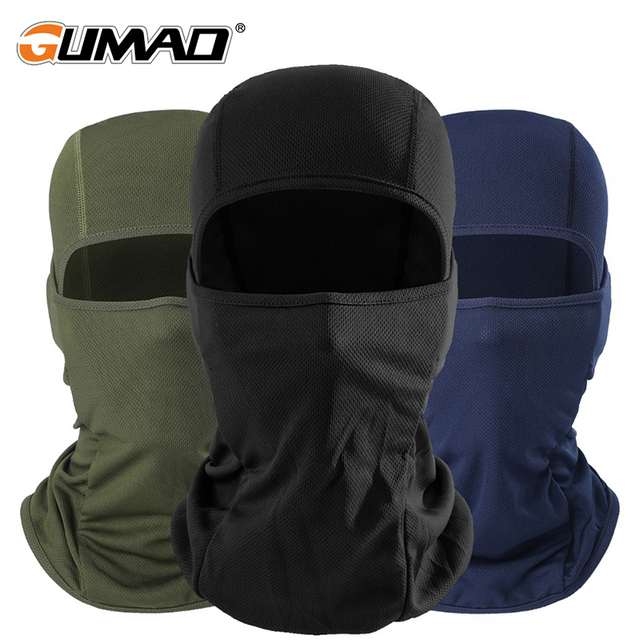 Outdoor Cycling Balaclava Full Face Mask Bicycle Ski Bike Ride Snowboard Sport Headgear Helmet Liner Tactical Paintball Hat Cap