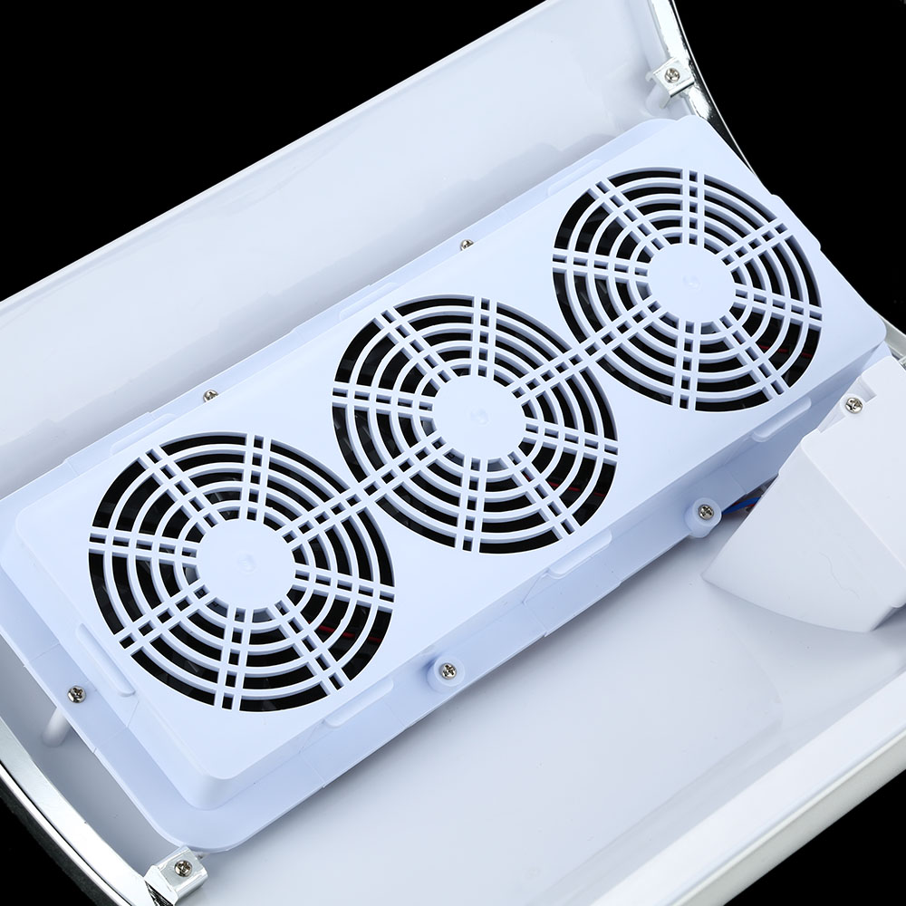 3 Fans Strong Power Nail Dust Collector Machine Vacuum Cleaner Nail ...