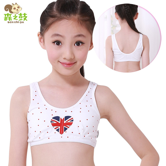 9f03b50a37f Kids Bras 2016 New Character Korean Girls During The Development Of Sport  Bra Steel Ring Free Underwear Factory Direct Students