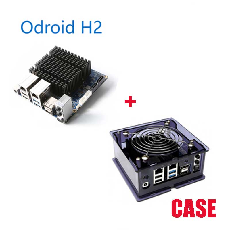 Odroid H2×86 Developer Board Win10 Hardkernel Gemini Lake 32GB Memory With Case Free Shipping