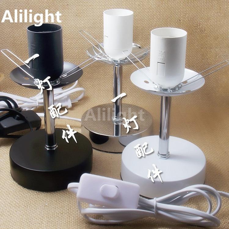 Sterilization Table Lamp Base Glass Shade Desk Lamp Holder ...
