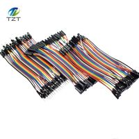 Dupont Line 120pcs 10cm Male to Male + Female to Male and Female to Female Jumper Wire Dupont Cable for Arduino