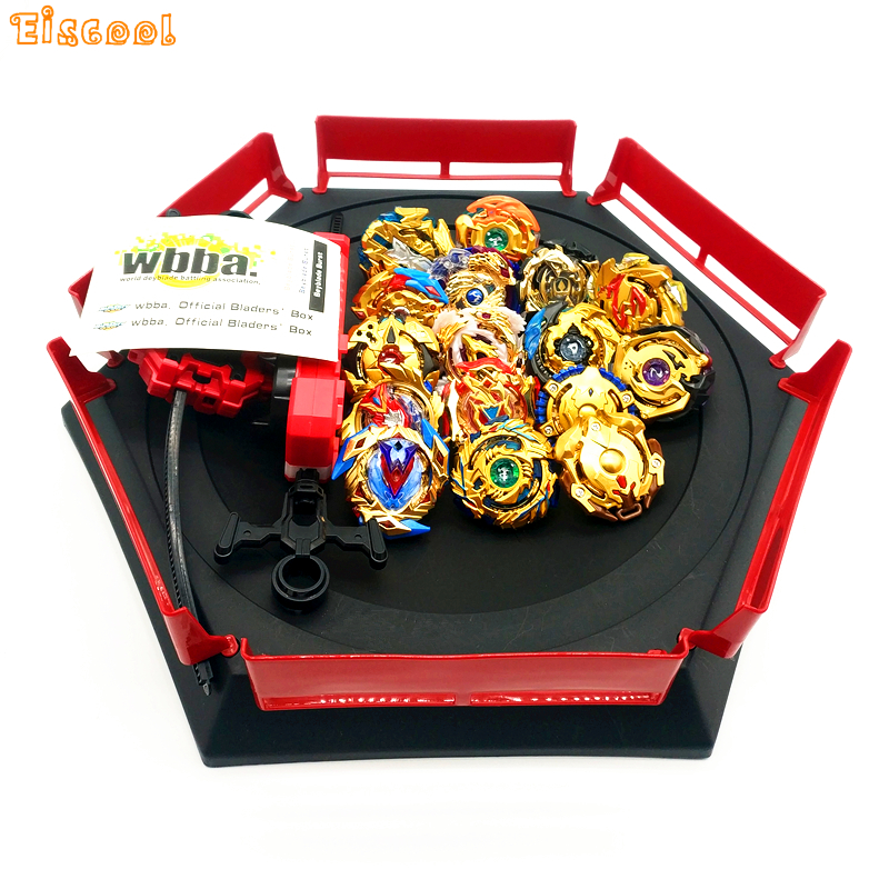 Gold style Beyblade Burst Toys With Launcher Starter and Arena Bayblade Metal Fusion God Spinning Top Bey Blade Blades boy Toys