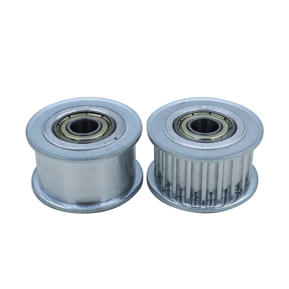 Smooth Idler Pulley With bore 8mm Bearing For width 21mm HTD3M HTD5M Timing belt