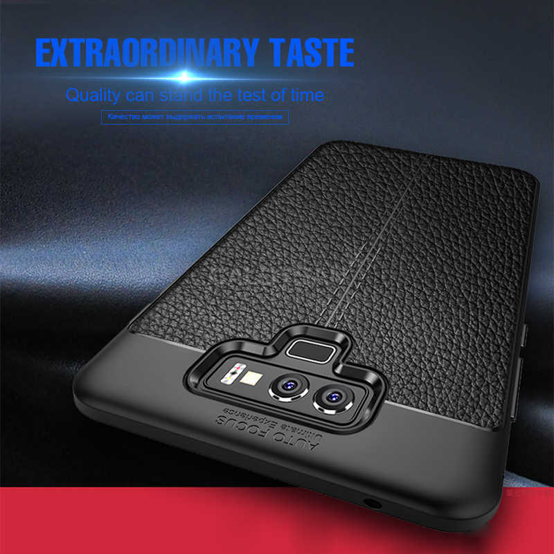Ультратонкий Мягкий силиконовый кожаный чехол для samsung Galaxy Note 9 8 S8 S9 S10 PLus S10E полное покрытие для S7 Edge S8 матовый чехол из ТПУ