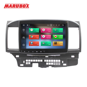 "Image 2 - MARUBOX Head Unit 1Din 4G RAM 10"" Android 9.0 For Mitsubishi Lancer 2006 2015 Stereo Radio GPS Navi Car Multimedia Player 716PX5"