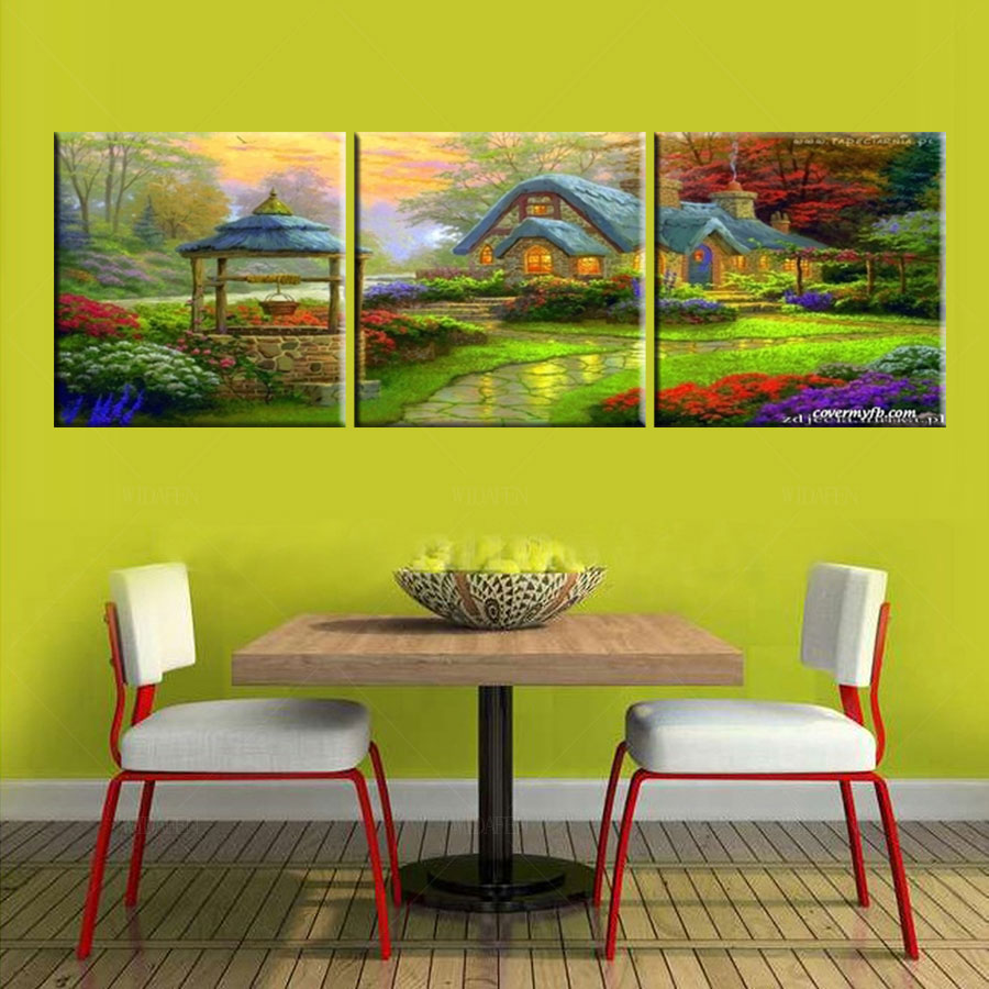 HD print poster modular picture 5 piece canvas art wall ...