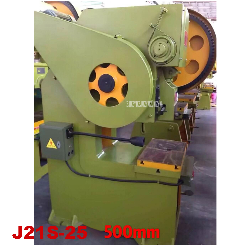 J21S 25 вертикальный Глубокая глотка удар механический удар Пресс машинная штамповка Пресс пресс для металла 220 V/380 V 2.2KW 70 раз/мин