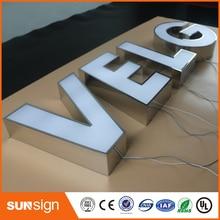 custom sign letters LED lettre lumineuse