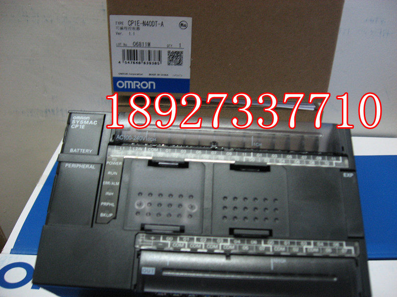 [ZOB] New original omron Omron programmable logic controller relay CP1E-N40DT-A new original programmable logic controller cp1e n60dr a rc full replace cp1e n60dr a 100 240v