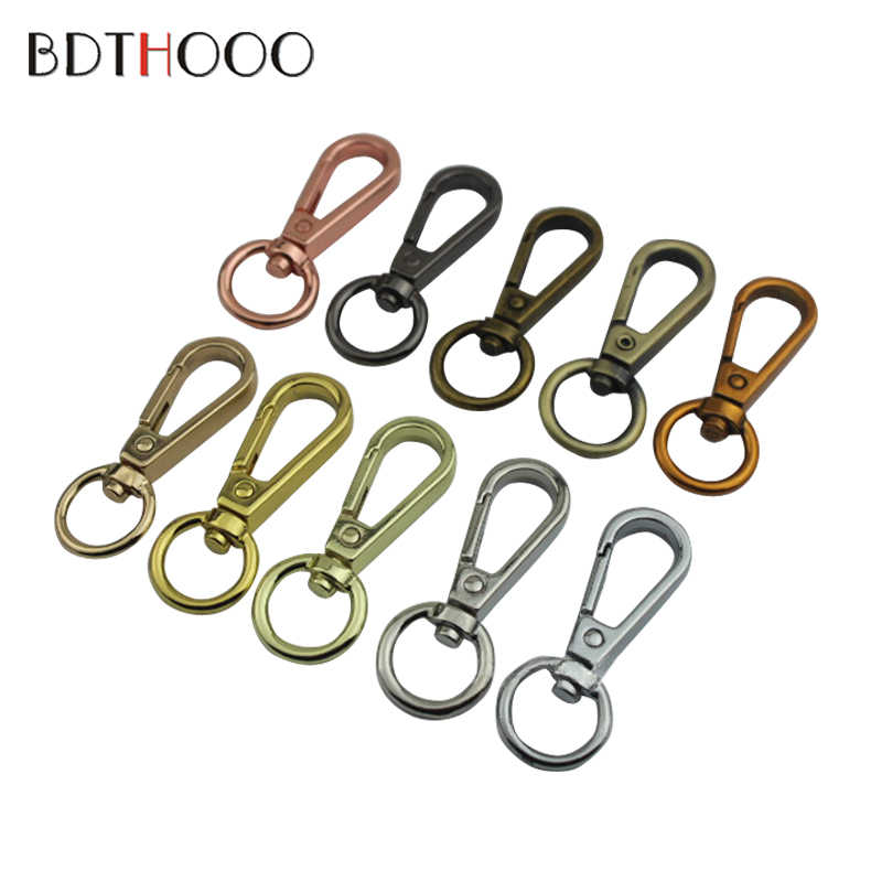aadc2b0ff60e BDTHOOO 10PCS Purse Hook for Bag Chain Frame Handle Rope Clasp Strap  Accessories Swivel Snap Hook