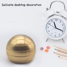 Desktop Decompression Rotating Spherical Gyroscope Kinetic Desk Toy Fidget Optical Illusion Flowing Finger for Adult 29