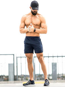 Muscle influx Fitness Shorts Man Casual Male Short Pants