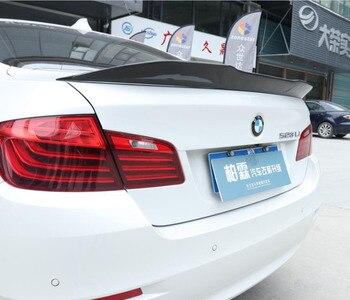 JINGHANG 100% סיבי פחמן רכב אחורי אגף Trunk ליפ ספוילרים מתאים עבור 10-17 BMW 5 סדרת F10 2010 -2017