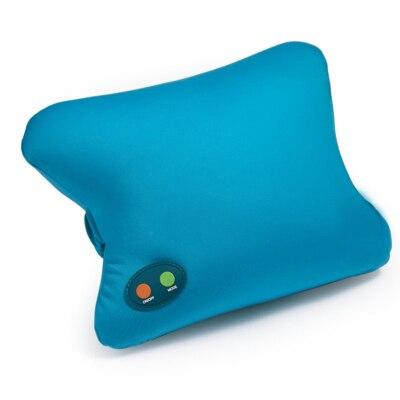 Electric Pillow Neck Vibrating Massager Travel Nap Memory Pillow Massager Relax for Shoulder Neck Back Massage neck support nap pillow
