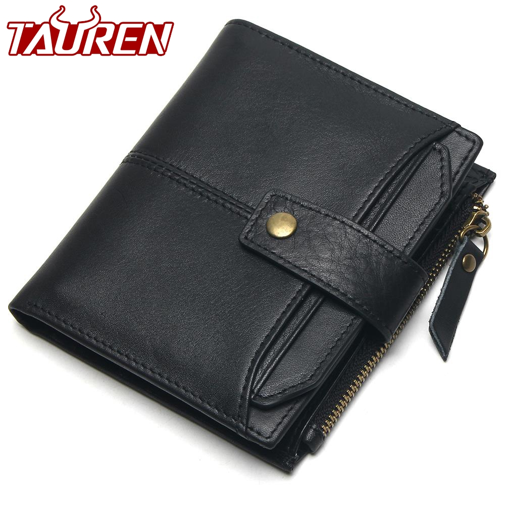 100% Genuine Leather Men Wallets Short Coin Purse Small Vintage Wallet Cowhide Leather Card Holder Pocket Purse Men Wallets недорго, оригинальная цена