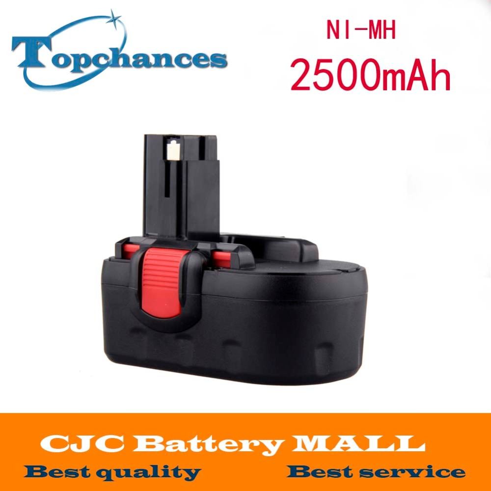 18V 2500mAh Ni-MH Rechargeable Battery for Bosch Power Tools Battery BAT025 BAT026 BAT160 BAT180 BAT181 BAT189