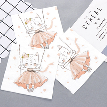 10pcs Lovely swing cat food-grate Printed napkin paper servilletas decoupage decorated Virgin Wood Tissue 33*33cm цена и фото