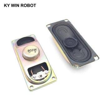 2PCS/Lot LCD Monitor/TV Speaker Horn 3W 8R 3070 Loud speaker 8 ohms 3 Watt 8R 3W 30*70MM thickness 17MM