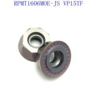 cnc חותך הפנים טחינה חותך 20PCS אביזרים RPMT1606MOE VP15TF באיכות גבוהה להב קרביד ללבוש עמידים חותך מחרטה CNC (2)