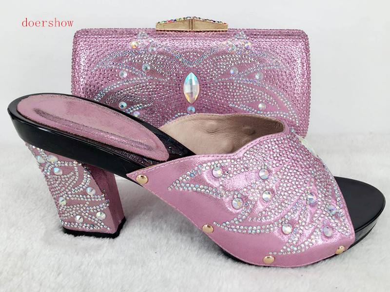 doershow Shoes and Bag To Match Italian African Shoes and Bag Set for Party In Women Italian Matching Shoe and Bag Set Hlu1-39 shoes and bag to match italian african shoe and bag set for party in women italian matching shoe and bag set doershow hjt1 25