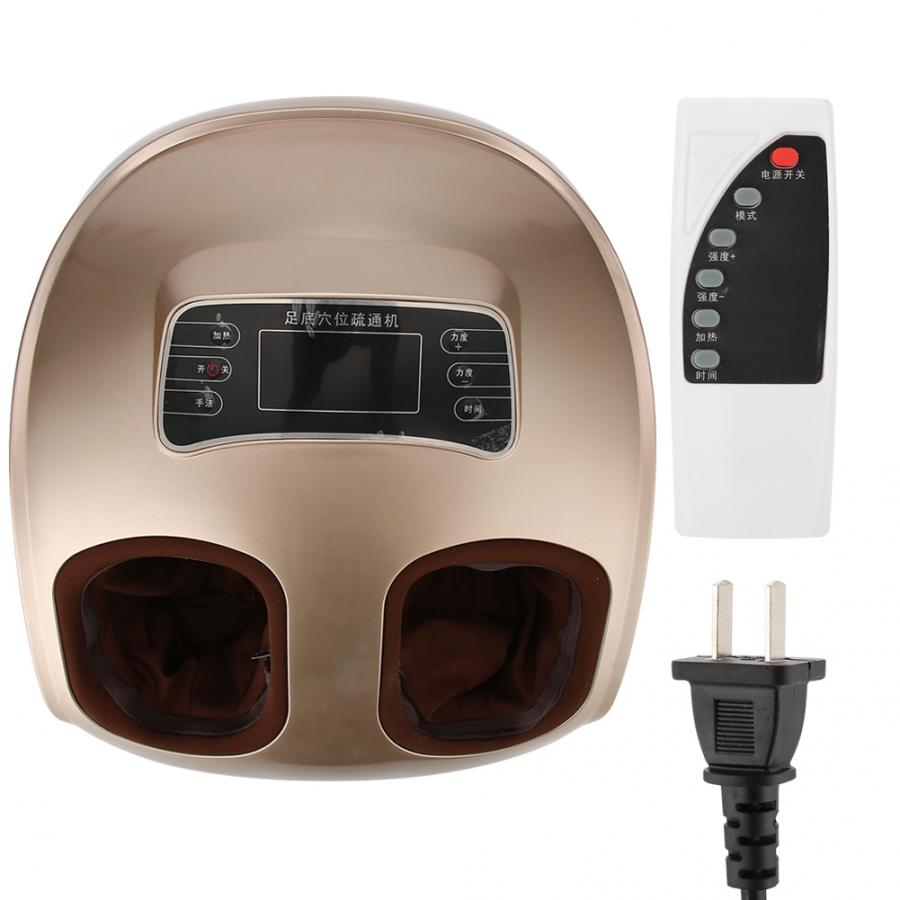 220V Electric Foot Massager Foot Acupuncture Points Massage Kneading Relieve Fatigue Machine(China)