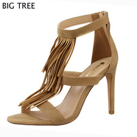 2015 New Fashion Euro Size34 43 Women S Sandals Lady S Summer Shoes Flat Heel Sandals