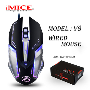 Image 5 - iMICE V8 Wired Gaming Mouse 6 Buttons Optical Computer Game Mause 1000/1500/2500/4000 DPI Ergonomic LED Light Mice for PC Laptop