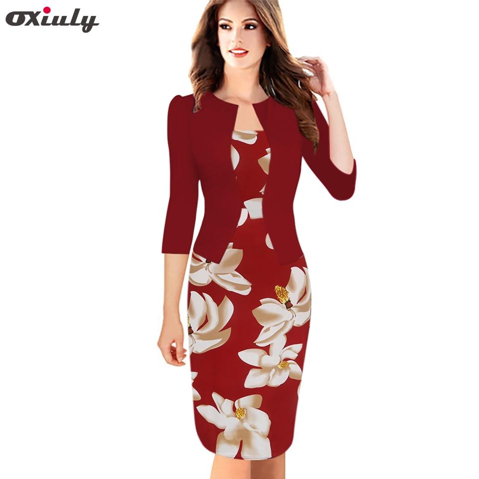 Oxiuly إمرأة جاهزة فو سترة قطعة واحدة - ملابس نسائية